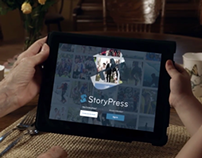 StoryPress App Commercial