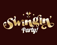 Swingin' Party | Identity & Flyer design