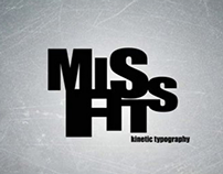 Misfits UK Kinetic Typography