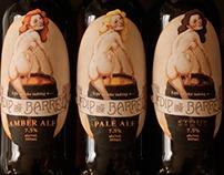 Dip in the Barrel Brand Beer