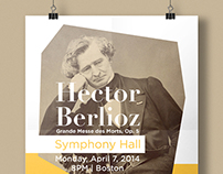 Boston University Promotional : Hector Berlioz