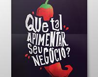 Ilustração - Flyer Pepper Promo