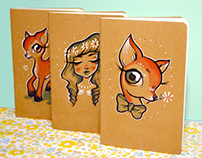 Custom Moleskines - elroseabel shop