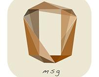 [GRAPHIC]App Logo Design - Oh Message!