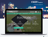 KvadroKopters - drone ecommerce