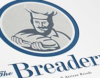 The Breadery Fresh Artisan Breads Logo Template