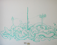 Mural de tripas
