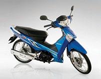 Honda Motorbike Photography