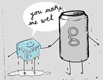 Hand in Hand Comics - G Carbonated Drink