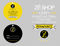 Zé Shop - Logo & Price tag
