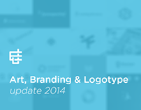 Art, Branding & Logotype Update 2014.