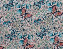 Textile patterns.