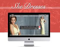 She Dresses
