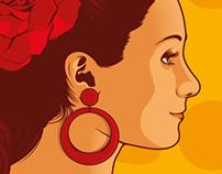 Cartel Feria de La Rinconada 2014