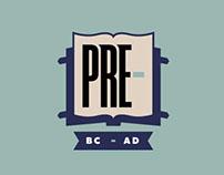 PRE- Apparel Logo and Brand Identity
