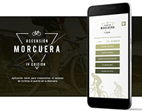App Móvil Ciclismo Crono / Chrono Cycling Mobile App