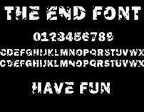 The End Free Font