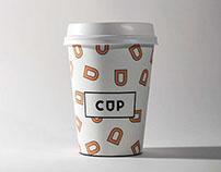 CUP - Coffee Shop Branding
