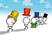 6 Hats Production Logo animation