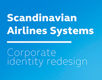 Scandinavian Airlines redesign