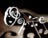 logo violinist named Oline.  web: www.oline.se