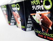 "Style of Asian food ""Nesisushi"""