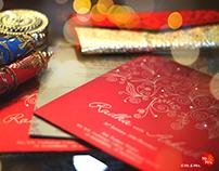 Wedding Invite Design for Radha & Ankush