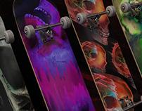 Skateboard Renders (Skull Share)