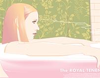 Margot: The Royal Tenenbaums silkscreen poster
