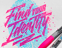 Typography Illustrations Vol.7