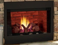 BBV Series B Vent Gas Fireplace by Wilshire Fireplace