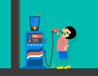 ART | 這個城市有一些臭蟲 / #003 / 飲料加油站 / Beverage Station.gif