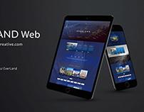 EVERLAND - Web Design