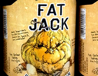 Samuel Adams Fat Jack Double Pumpkin 22 oz. Label