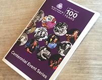 Centennial Events Program