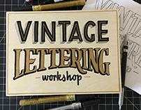 Vintage Lettering Workshops