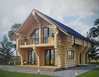 Wooden house project