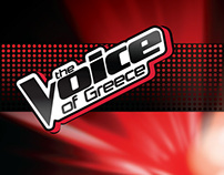 The Voice of Greece Backstage Set designs