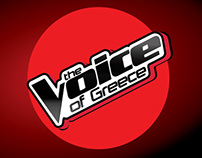 """The Voice of Greece"" TV show Set Design"