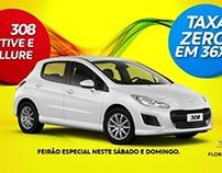 Campanha de Abril Peugeot Florence