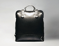 Human Cloning leather bag