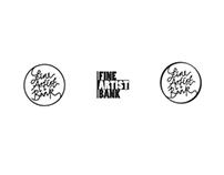 Fine Artist Bank logo design