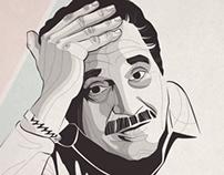 Serie de ilustraciones Gabriel Garcia Marquez