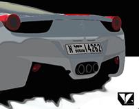 Ferrari Photoshop