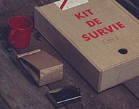 Agency Survival Kits / Kit de survie