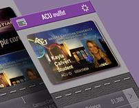 ACU Wallet App