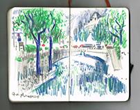 The Green Sketchbook - Part II