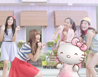 Softex Hello Kitty TVC