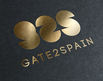 Logotipo Gate2Spain (para M3 Comunicación)