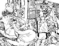 Sketchbook Pages Spring 2014
